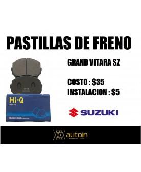 PASTILLAS FRENO SUZUKI...