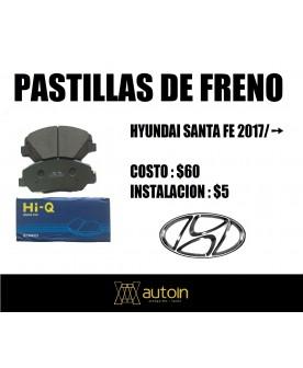 PASTILLAS DE FRENO HYUNDAI...